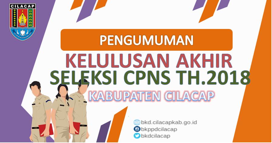 Pengumuman SKB CPNS Cilacap