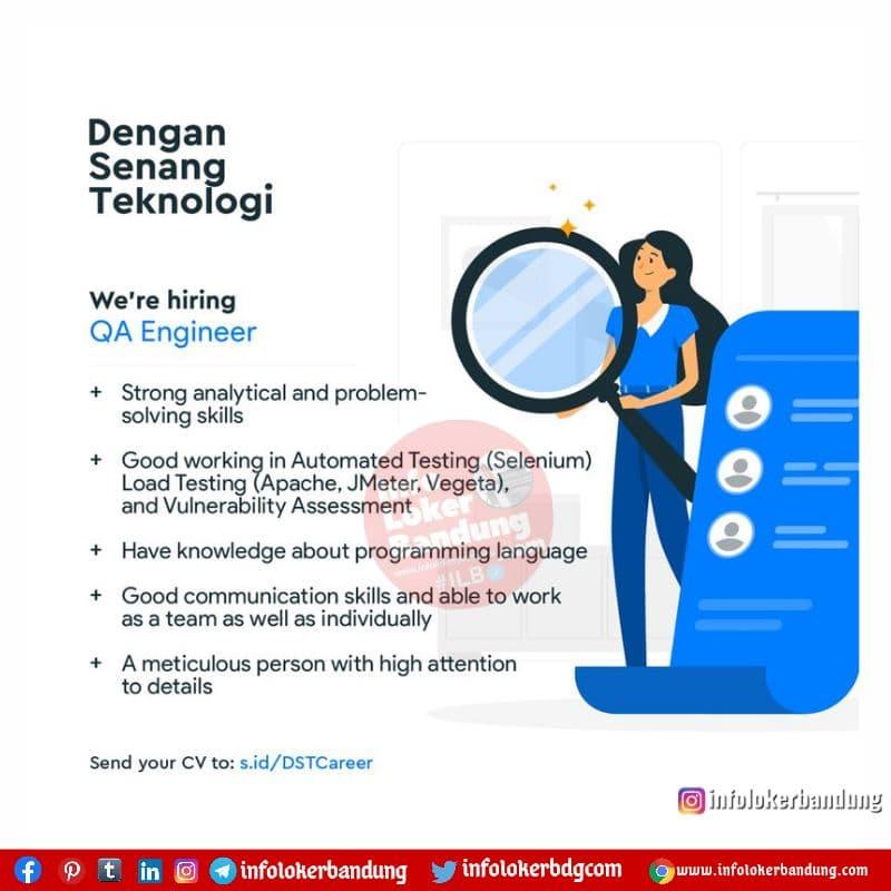 Lowongan Kerja Dengan Senang Teknologi Bandung Juni 2021