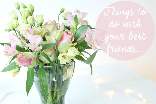 Lifestyle, Home Decor, Things To Do With Your Best Friend, Valentine's day, Things To Do With Your BFF, Best Friends,  Bloom & Wild, Bloom and wild flowers, Galentines, galentines day