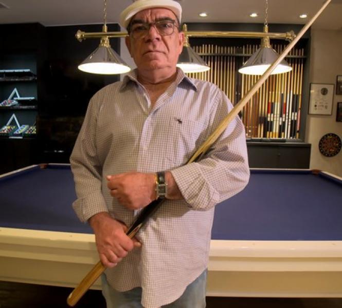 Rui Chapéu, lenda da sinuca brasileira morre em São Paulo