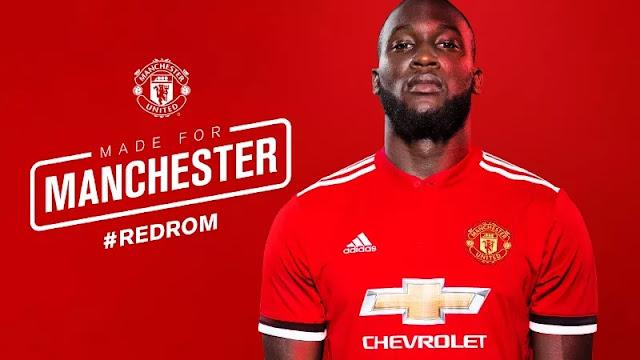 Manchester United Resmi Perkenalkan Romelu Lukaku