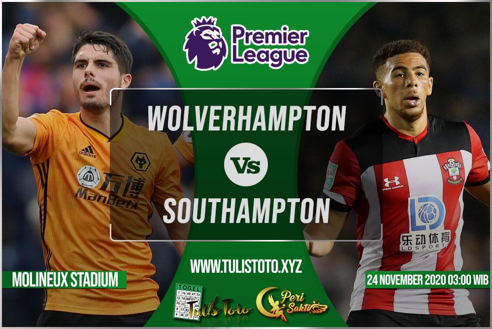 Prediksi Wolverhampton vs Southampton 24 November 2020