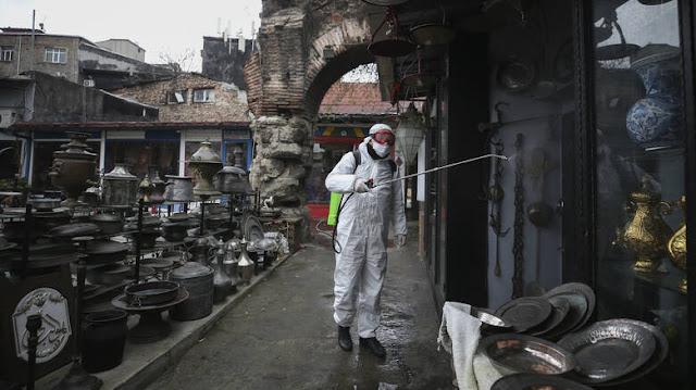 Κορωνοϊός: Στους 75 οι νεκροί στην Τουρκία - Πάνω από 1.000 νέα κρούσματα σε μια ημέρα