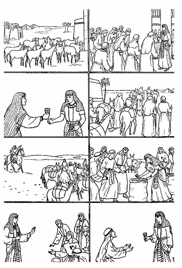 Imágenes para colorear cristianas