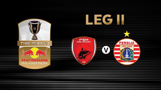 Tiket Online Psm Makassar Vs Persija Final Piala Indonesia Leg Kedua