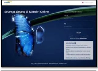 Gambar 1 Cara Aktivasi Mandiri Online di  Website