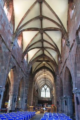 St Mary's Church, Haddington (Photo Stephen C Dickson / Wikipedia)