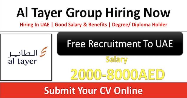 Al Tayer Group Jobs Dubai