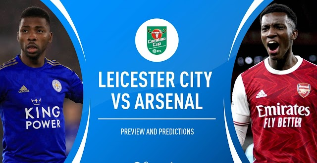 Arsenal vs Leicester City Premier League 2020/21 Preview and Prediction Live stream