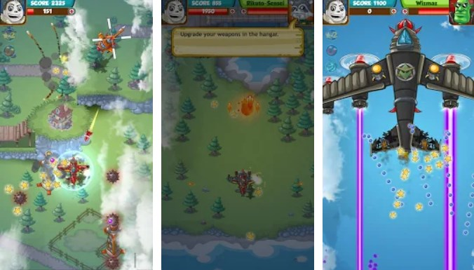 Intellectuapp Action Game Of The Week Skier Wing Commander
