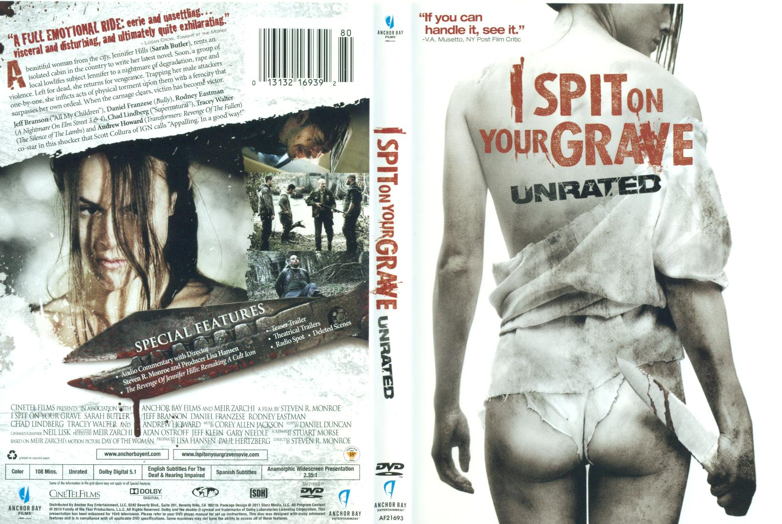 on unrated your grave spit I