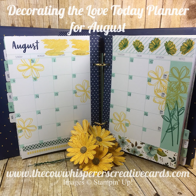 Love Today Planner Kit, Planner, Organized, Decorate, Stampin UP