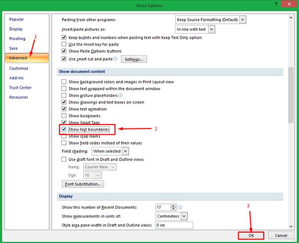 Cara Memunculkan Garis Tepi Margin pada MS Word 3