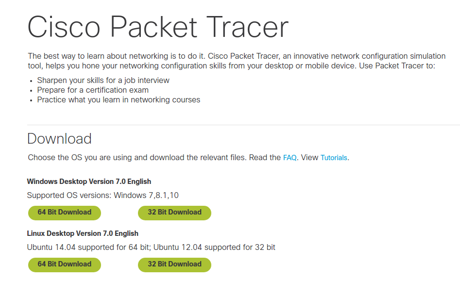 download cisco packet tracer for windows 10 64 bit