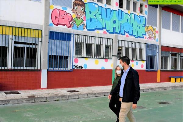 El Cabildo acondiciona la planta alta del CEIP Benahoare para albergar la Escuela de Enfermería