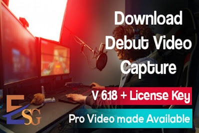 Debut Video Capture Software  (Home Edition) + Activation Code