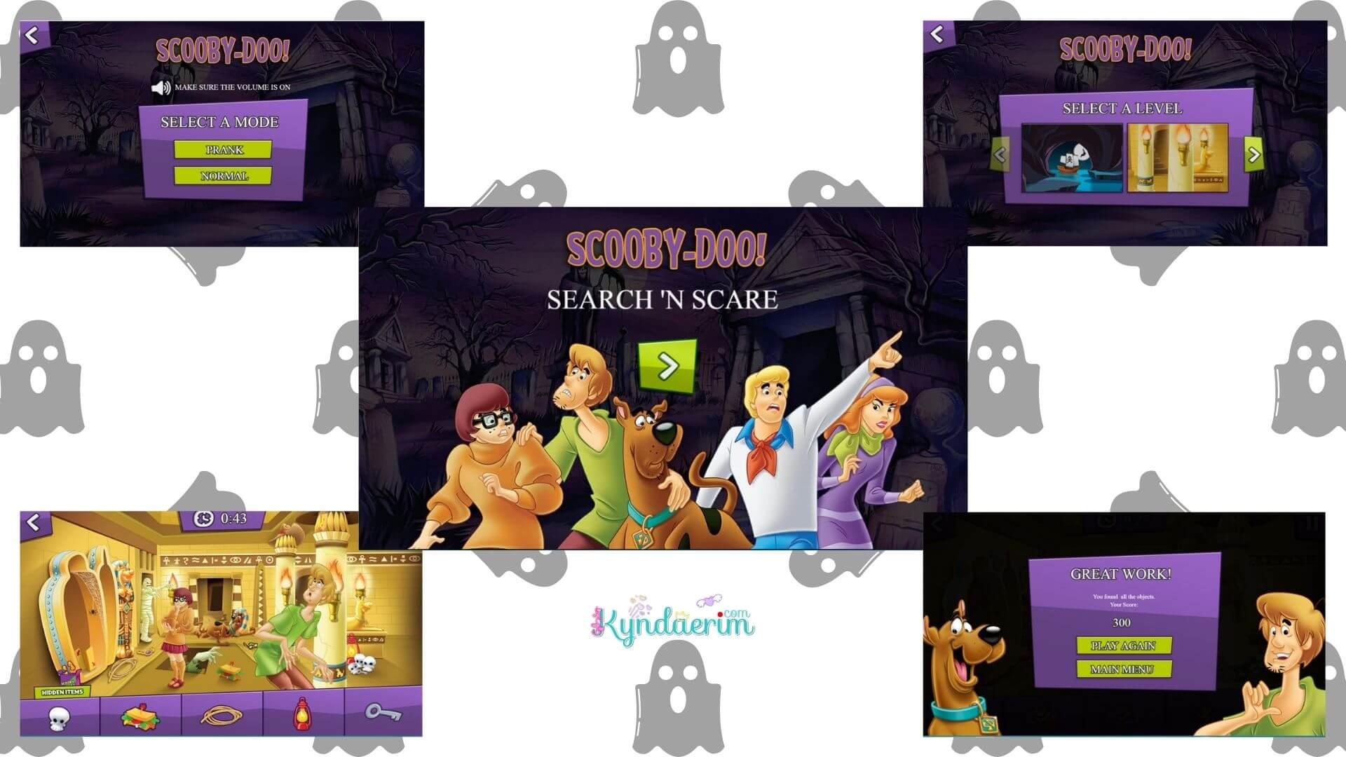 Hidden Object Games Scooby-Doo! Search 'n Scare
