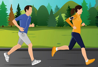 Perbedaan Lari dan Jalan