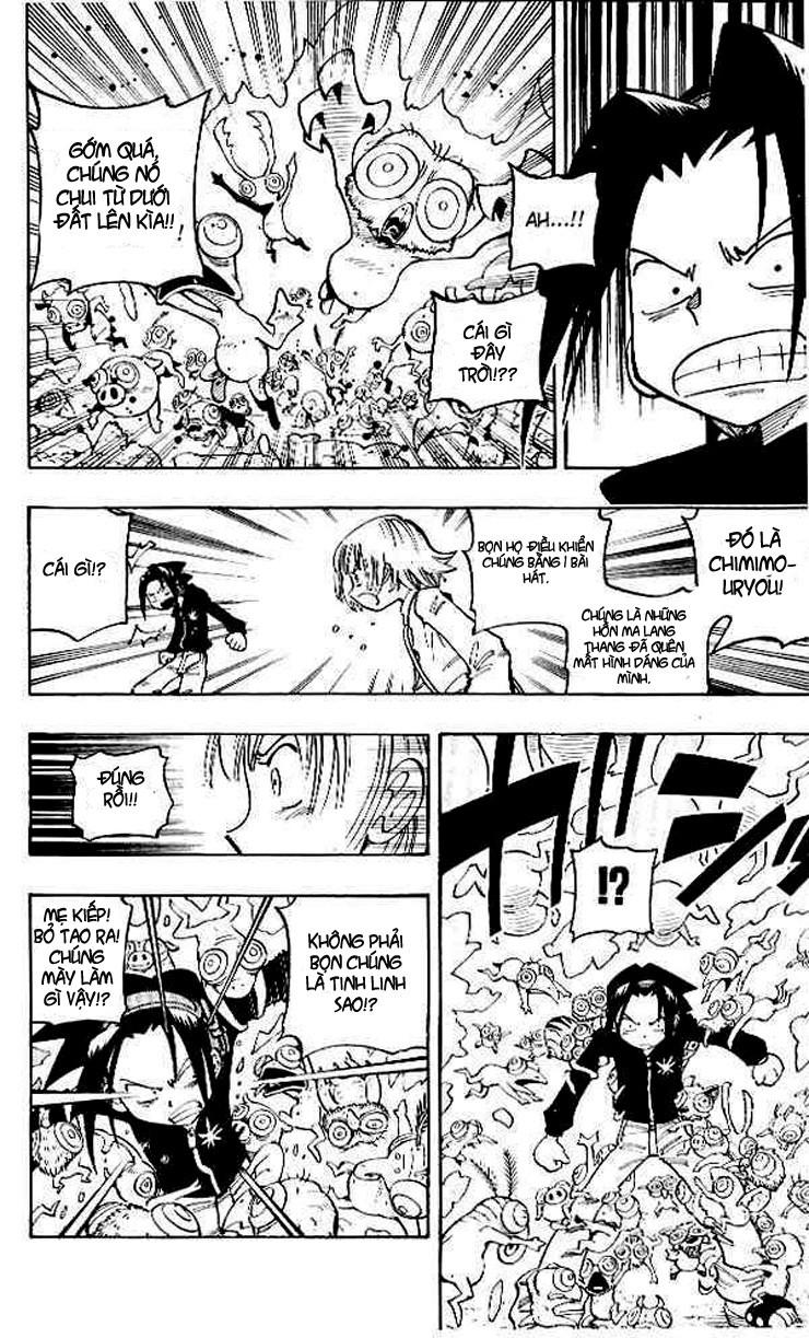 Shaman King [Vua pháp thuật] chap 66 trang 22