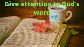 How to make God's word your life
