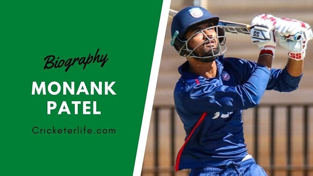 Monank Patel cricketer Profile, age, height, stats, wife, etc.