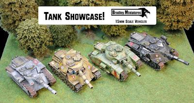 Bradley Miniatures 15mm tank showcase