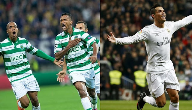 Real Madrid vs Sporting de Lisboa en vivo