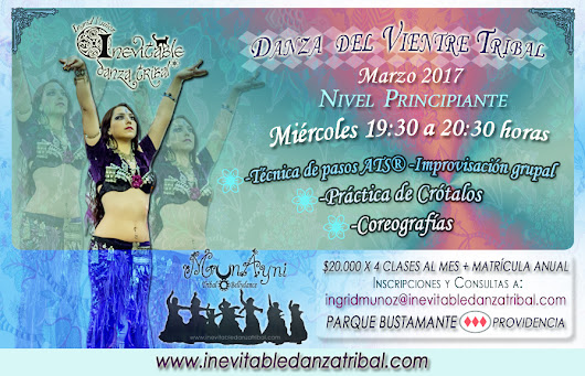 Cursos Danza Tribal - Inevitable Danza Tribal