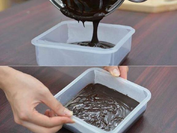 làm socola - làm nguội socola