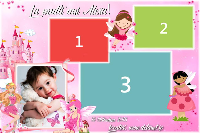 Free Dsrlbooth template-Pink Birhtday, photobooth template
