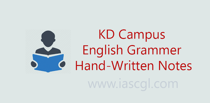 KD Campus English Grammar Notes