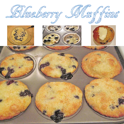 baking blueberry muffins special tips
