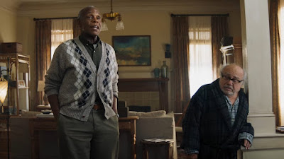 "In ""Jumanji: The Next Level,"" Danny Glover and Danny DeVito star as former business partners who have many unresolved issues with each other."