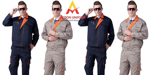 Mẫu đồng phục bảo hộ lao động 2