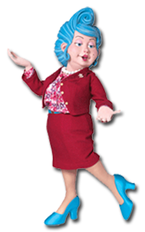 Cartoon Characters: LazyTown (PNG)