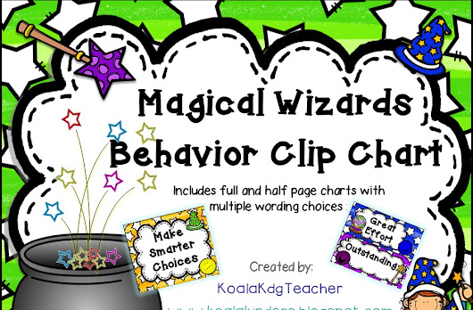 Magical Wizards Behavior Clip Chart