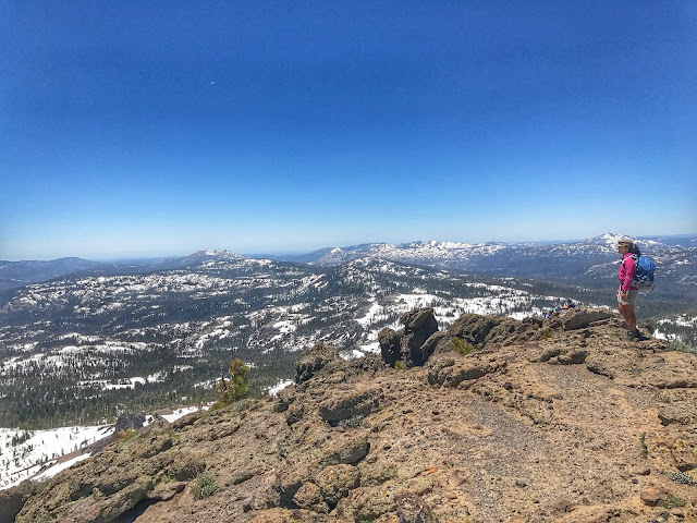 views at Castle Peak