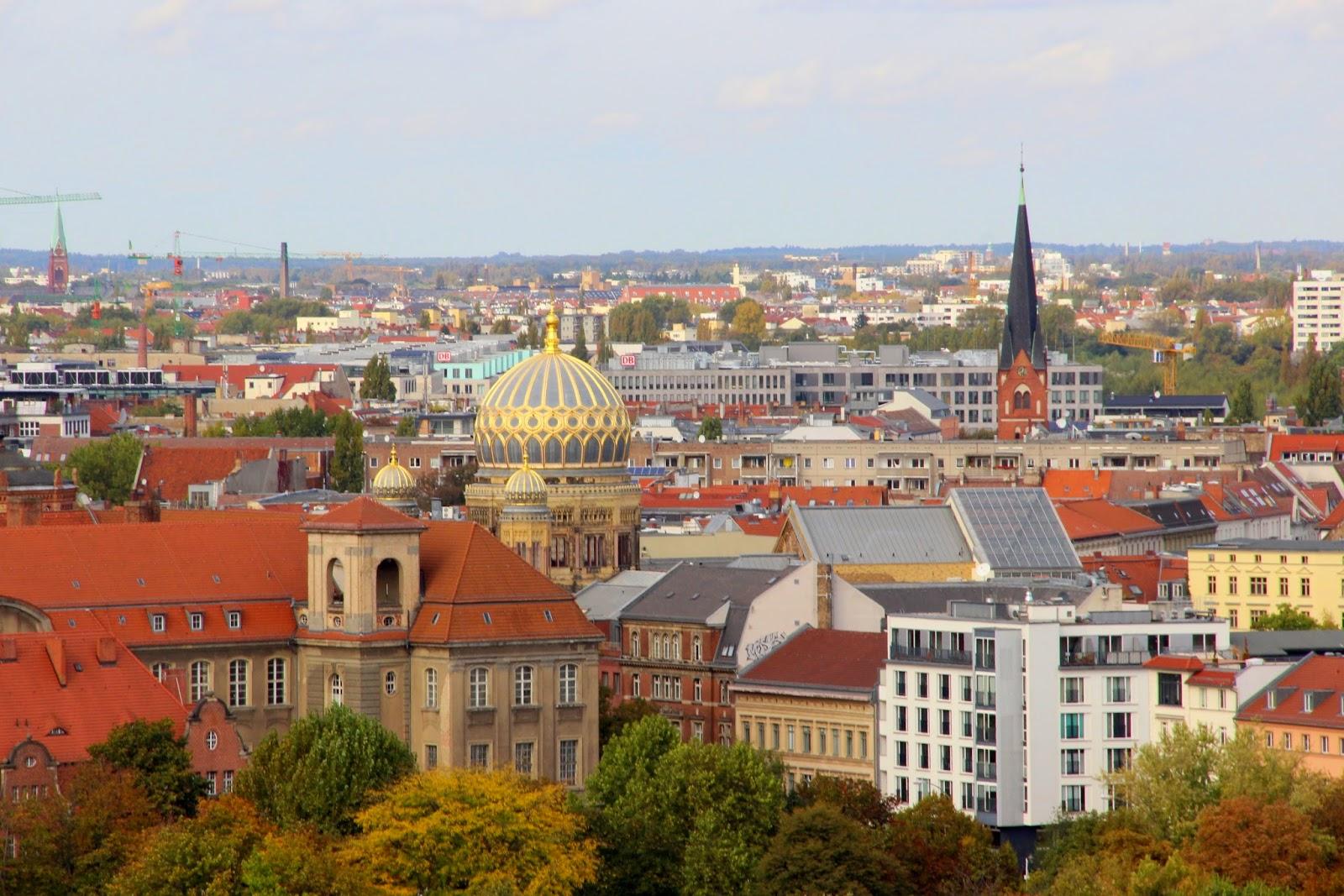 вид с Берлинского собора (Berliner Dom)