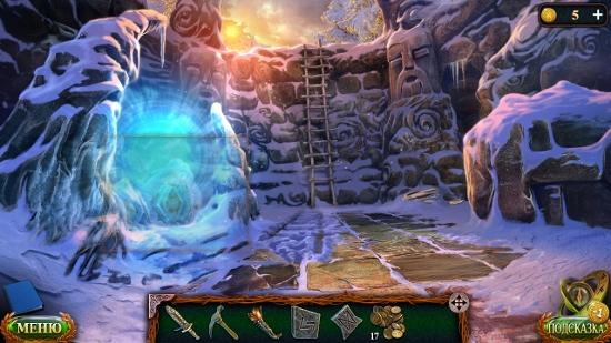 открытый вход в очередную локацию в игре затерянные земли 5