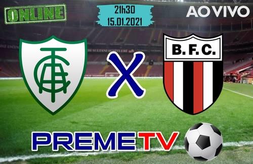 América-MG x Botafogo-SP Hoje