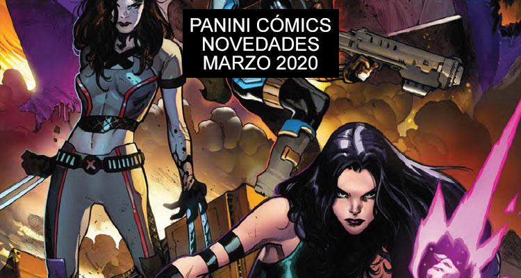 Panini Cómics: Novedades para Marzo de 2020