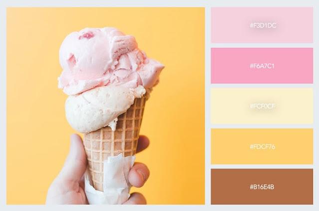 gam màu pastel ấm áp