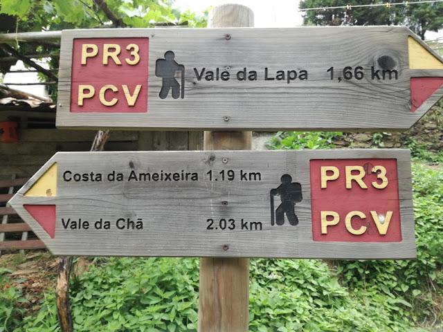 Percursos Pedestres Praia Fluvial do Vimieiro