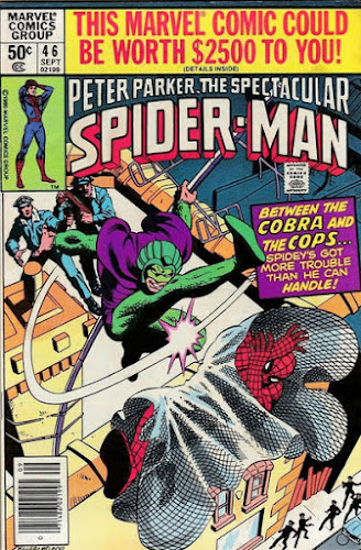 Spectacular Spider-Man #46, the Cobra