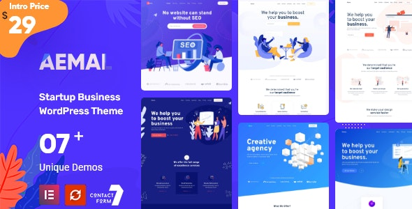 Startup Business WordPress Theme