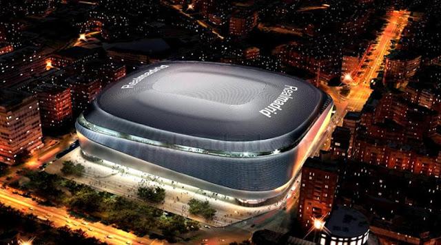Real Madrid vai reformar o Santiago Bernabéu