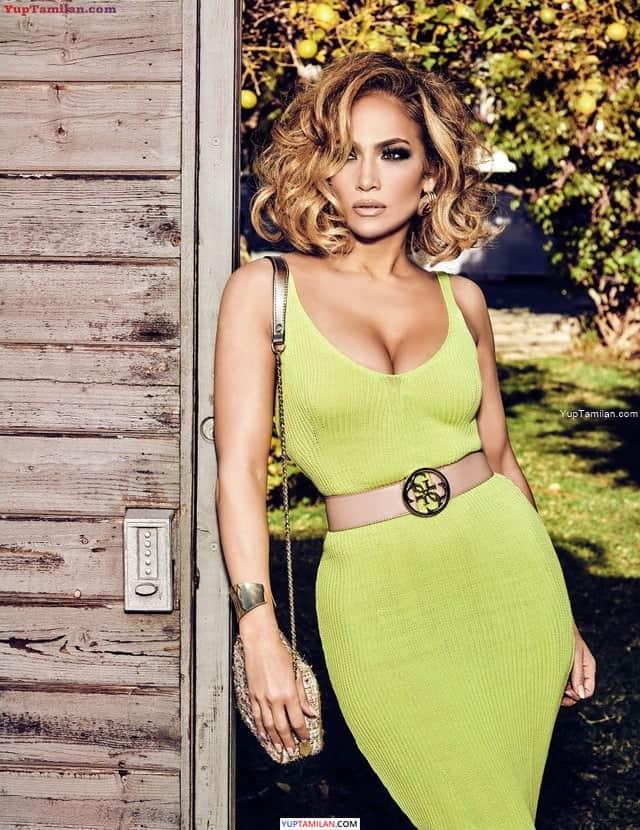 Jennifer Lopez Hottest Cleavage Photos   Sexy Thigh, Legs & Butt Show