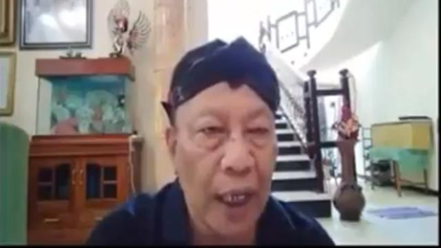 Usai Kerahkan Jin ke Gedung MPR, Muncul Lagi Video Ki Sabdo Menagih Gaji ke Jokowi