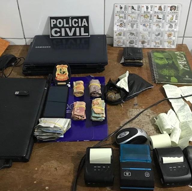 Comerciante é preso por envolvimento com o jogo do bicho no interior do Ceará