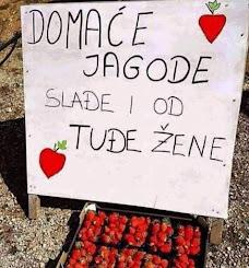 Smešan oglas: Domaće jagode sladje od tudje žene
